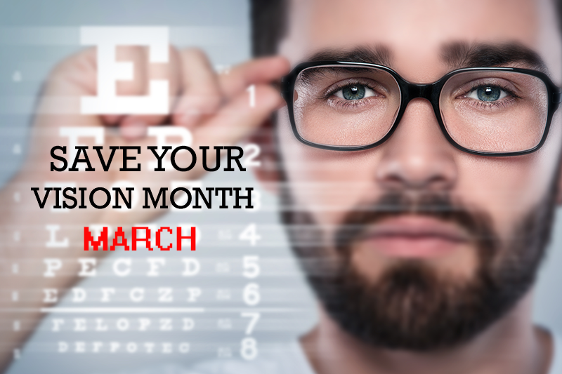 save your vision month in Pune - March 2021